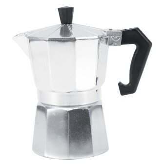 Aluminum Italian Type Espresso Moka Coffee Maker Stove Home Office Coffee Blender (150ML 3 Cups) - intl