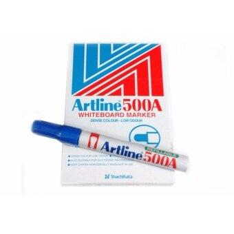 รีวิวพันทิป Artline ปากกาไวท์บอร์ด รุ่น EK-500A (1กล่อง x 12ด้าม)