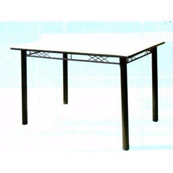 Asia โต๊ะอาหารหน้าโฟเมก้า ขนาด 1.20 เมตร รุ่นจาไมก้า สีขาว