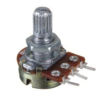 Audew 10pcs Linear B500K Pot Volume Tone Potentiometers Switches Electric Guitars Bass NEW - intl