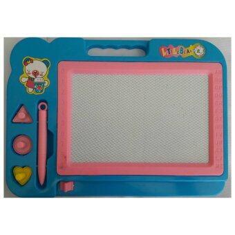 ขอเสนอ Baby Station กระดานเขียนลบได้ มาพร้อมตัวปั๊มและปากกา สีฟ้า