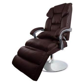 B&G เก้าอี้ตัดผม Beauty salon chairs เก้าอี้เสริมสวย สำหรับทำผม เบาะหนังคุณภาพสูง (Brown) - รุ่น S-2