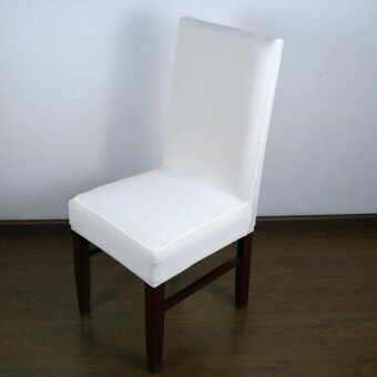Beautymaker Universal Spandex Chair Covers Weddings Dining Chair Covers White - intl