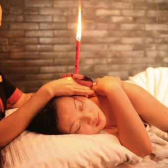 Beewax Cleaner Quicker Ear Candling Therapy Straight Style Ear Care& Ear Candle