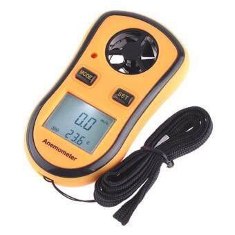 ต้นฉบับ Benetech แบรนด์ GM8908 30m / s (65mph) ดิจิตอลมือถือความเร็วลมมิเตอร์วัดวัดวัดความเร็วลมเครื่องวัดอุณหภูมิ