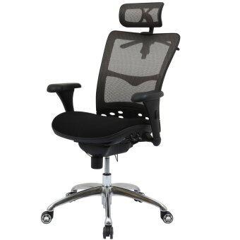 เสนอราคา เก้าอี้เพื่อสุขภาพ เออร์โกเทรน รุ่น บียอร์นแบล็คโบน (Beyond Blackbone-01BMF) สีดำ