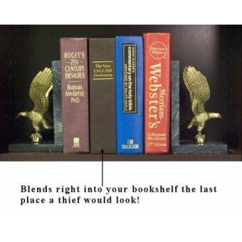 Book Safe เซฟรูปดิกชันนารีเก็บของ ตู้เซฟ ตู้นิรภัย สีดำ Dictionary Book Safe Security Box - 3