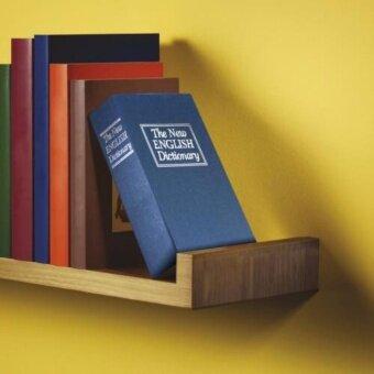 Book Safe เซฟรูปดิกชันนารีเก็บของ ตู้เซฟ ตู้นิรภัย สีดำ Dictionary Book Safe Security Box - 4