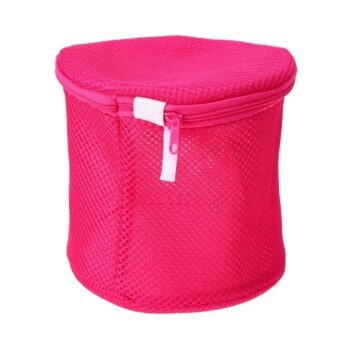 Bra Underwear Laundry Bags Mesh Household Cleaning Tools(Rose)