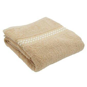 Chapeau ผ้าเช็ดตัว ขนาด 30 x 60 นิ้ว - สีเบจ ( แถมฟรี ผ้าเช็ดตัวCHAPEAU 1 ผืน ) - 3