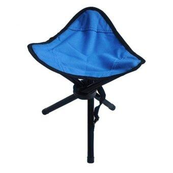 ... coconie Camping Folding Stool Portable 3 Legs Chair Tripod SeatOutdoor Oxford Cloth BU intl