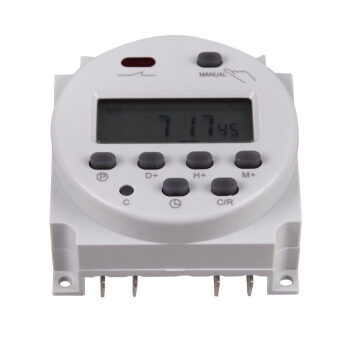 DC-12V-16ADigital-LCD-Power-Programmable-Timer-Time-switch-Relay-16A