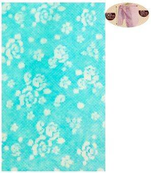 DD ผ้าคลุมราวตากผ้าทรงกลม (สีฟ้า)