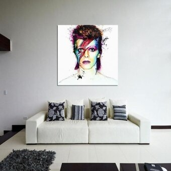 DIY Oil Painting Wall Painting Home Decor Picture David Bowie BandPoster - intl