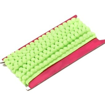DIY Sewing Accessory Braided 10mm Width Pom Pom Trim Ball Ribbon -intl