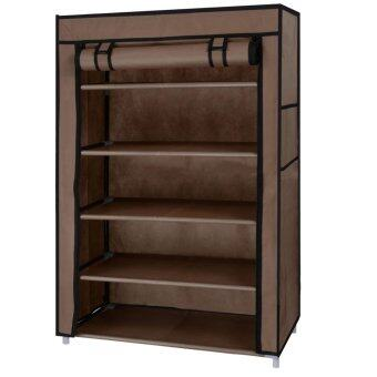 Dmall Shoe Rack  5  +  - Coffee