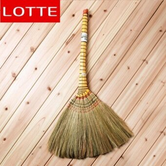 E-Life Durable Natural Fiber Broom/High Performance Reedbristles