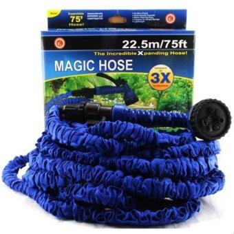 Elastic Hose สายยางยืดหด 15M/50FT Automatically EXPANDS andContracts (Blue)