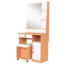 ENZIO โต๊ะเครื่องแป้ง พร้อมสตูล ขนาด 70 ซม. รุ่น Cottage - สีบีชขาว