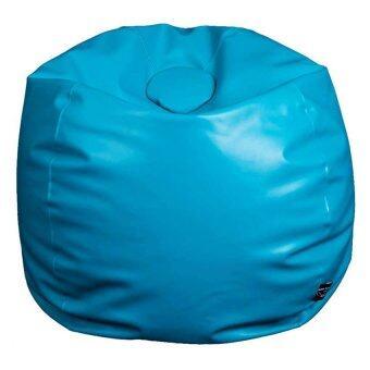 Esupersave เก้าอี้ Beanbag ทรงกลม Ø80 (สีฟ้าเทอร์คอย)