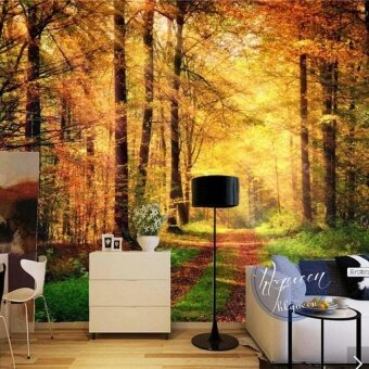 FRD Modern 3D Natural Landscape Photo Wall Mural Wallpaper Rolls Home Art Decorative Sticker Murals Custom Size