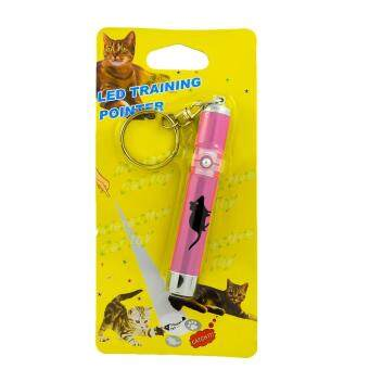 ประกาศขาย G2G เลเซอร์ไฟ LED รูปหนู ของเล่นสำหรับแมวและสุนัข เพื่อความสนุกสนาน สีชมพู จำนวน 1 ชิ้น