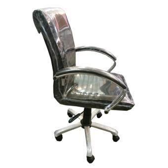 Gindex เก้าอี้สำนักงาน มีสวิงปรับโยก ปรับระดับได้ รุ่น CO006S-B (สีเบาะดำ/ขาชุป) รีวิว