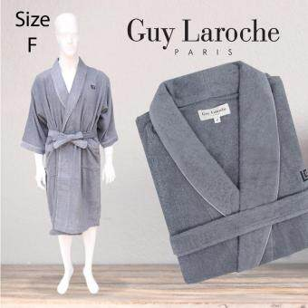 GuyLaroche Bathrobe Collection Free Size (Grey)