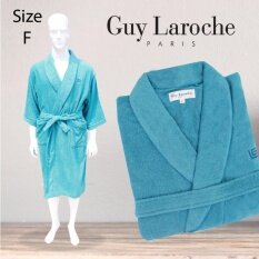 GuyLaroche Bathrobe Collection Free Size  (Turquoise)