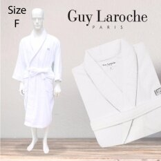 GuyLaroche Bathrobe Collection FreeSize   (White)
