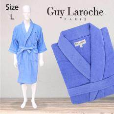 GuyLaroche Bathrobe Collection Size L (Blue)