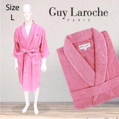 GuyLaroche Bathrobe Collection Size L (Pink)