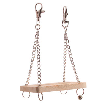 Hanyu Hamster Swing Small Pet Wooden Toy