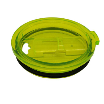 Hanyu Plastic Splash Spill Proof Lid for RTIC and YETI Rambler 30Oz Tumbler Cup Replacement Green - 2