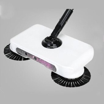 HappyLife Adjustable 360 Spin Hand Push Sweeper HouseholdDustcollector Floor Surface Cleaning Mop