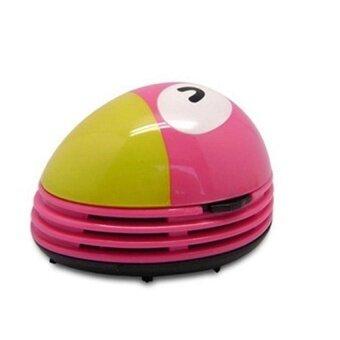 HappyLife Mini Table Dust Vaccum Cleaner Pink Toucan Prints Design