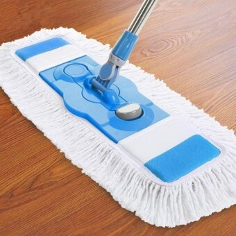 HappyLife Ocean New Mops Flat Wood Floor Dust Push Mop(Blue)