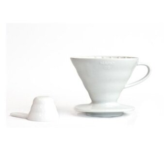 Hario Coffee Dripper V60 02 Ceramic VDC-02CW - White