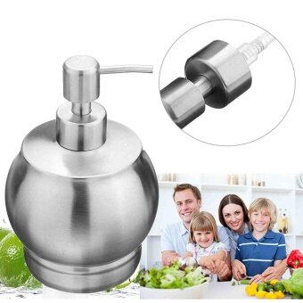 High Quality 304 Stainless Steel Kitchen Bathroom Hand Pump Soap Dispenser - intl