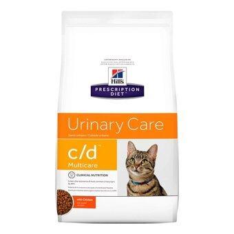 Hill's feline c/d อาหารเม็ด สำหรับแมวที่เป็นโรคนิ่ว 3.85kg