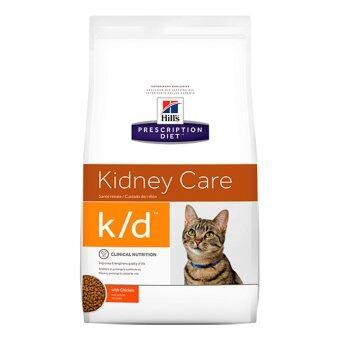 Hill's Prescription Diet k/d Feline Renal Health อาหารแมวชนิดเม็ดสูตรประกอบการรักษาโรคไต ขนาด3.85กก.