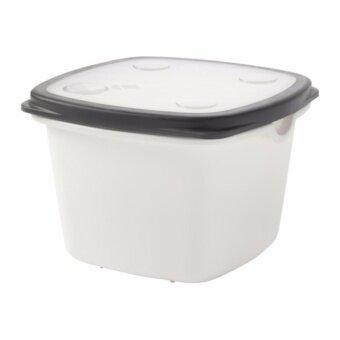 IKEA อิเกีย 365+ กล่องเก็บอาหาร ความจุ 1.5 ลิตรใช้อุ่นอาหารในไมโครเวฟได้ (ขนาด 17x17x12 ซม.)