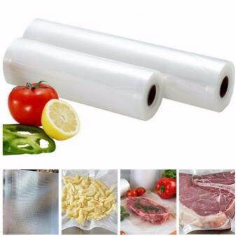 Harga Vacuum Heat Sealer Fresh Food Saver Bags Roll Food Storage Bags Vacuum Saran Wrap Plastic Bags Kitchen Packaging XHH8147-1-12x500 - intl