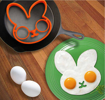 Harga Silicone egg mold shaper Cooking Tools Pancake Rings silicone fried egg mold