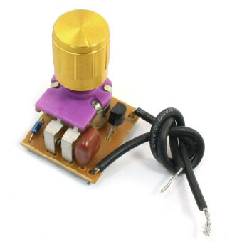 Harga Table Lamp Full Range Dimmer Gold Tone Rotary Switch 2 Wire Connector (Intl) - Intl