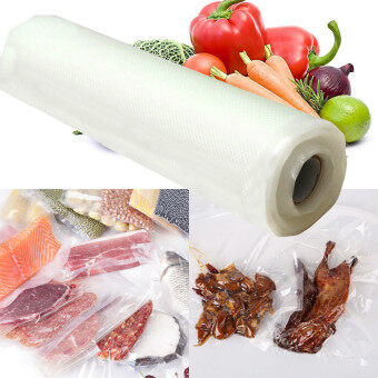 Harga 3pcs Roll Seal Vacuum Fresh-keeping Self Sealing Food Save Storage Bag 500x20cm - Intl