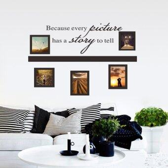 Harga Photos PVC Removable Room Decal Art DIY Wall Sticker Home Decor (Intl)
