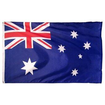 Harga 3'x5' 3x5 ft Australia Flag Australian Football Sports Banner w/ Brass Grommets