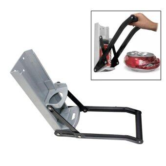 Harga เครื่องบีบอัดกระป๋องด้วยมือ 16 oz Auto Dispensing Can Crusher / Smasher, Crushes Soda Cans and Beer Cans