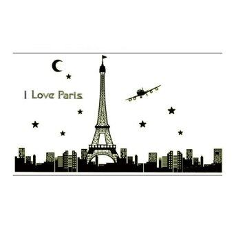 Harga TGHome Wall Sticker I Love Paris เรืองแสง